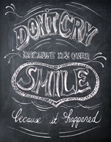 "Smile - Mini by Drako Fontaine - 13"" x 19"", FulcrumGallery.com brand"