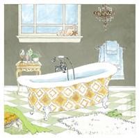 Gold Bath II - Mini Fine Art Print