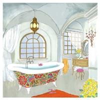 "Moroccan Bath II - Mini by Jocelyn Haybittel - 13"" x 13"", FulcrumGallery.com brand"