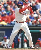 Ryan Howard Up To Bat 2013 Fine Art Print