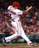 Ryan Zimmerman 2013 batting action Fine Art Print