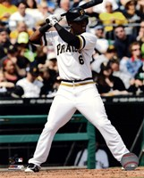 Starling Marte 2013 Action Fine Art Print
