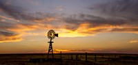 Plains Windmill Fine Art Print