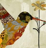 Hummingbird Brocade III Fine Art Print