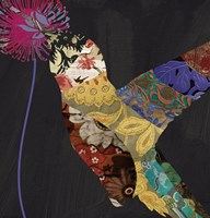 Hummingbird Brocade II by Color Bakery - various sizes
