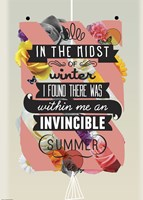 The Invincible Summer Fine Art Print
