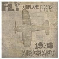 Aviation III - Mini Fine Art Print