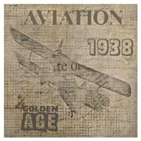 "13"" x 13"" Aviation Art"