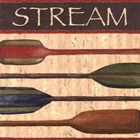 Oars I Fine Art Print