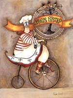 "Paris Bistro I by Jennifer Garant - 12"" x 16"""