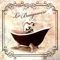 """Femme Tub by Gregory Gorham - 12"""" x 12"""""""