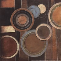 Abstract Circles I Fine Art Print