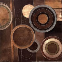 Abstract Circles II Fine Art Print