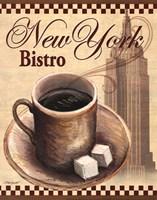 "New York Bistro by Todd Williams - 11"" x 14"", FulcrumGallery.com brand"