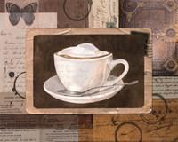 Vintage Latte - mini Fine Art Print
