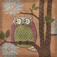 Fantasy Owls IV Framed Print