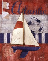 Maritime Boat I Framed Print