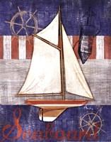 Maritime Boat II Framed Print