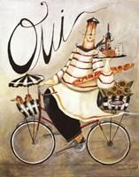Chef & Wine I Fine Art Print