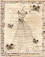 Wire Dress II - mini Fine Art Print