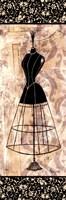 """Dress Form Panel II - mini by Katie Guinn - 6"""" x 18"""" - $9.99"""