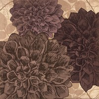 Dahlia II - mini Fine Art Print