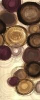 """Purple Whimsy Panel I -mini by Jeni Lee - 8"""" x 20"""""""
