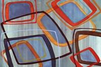 Bright Geometrics I Fine Art Print
