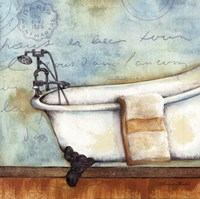 Relax Bath Fine Art Print