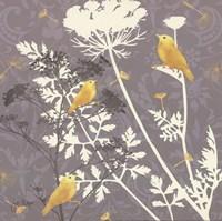 Gray Meadow Lace I Fine Art Print