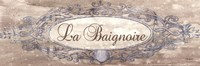 """La Baignoire Sign - mini by Todd Williams - 18"""" x 6"""""""