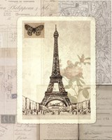 Paris Sketchbook Fine Art Print