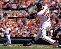 Nick Markakis 2013 Batting Fine Art Print