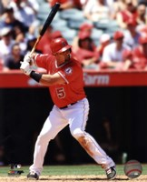 Albert Pujols 2013 Action Fine Art Print