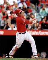 Mike Trout 2013 batting Fine Art Print