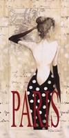 Paris Lady Fine Art Print