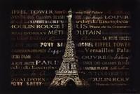 """Paris by Dee Dee - 18"""" x 12"""""""