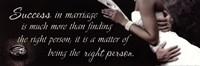 Success In Marriage Fine Art Print