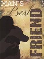 """Man's Best Friend by Marla Rae - 12"""" x 16"""""""