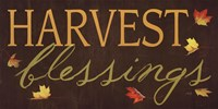 """Harvest Blessings by Marla Rae - 18"""" x 9"""" - $11.99"""