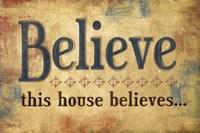 """Believe by Mollie B. - 18"""" x 12"""""""