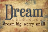 "Dream by Mollie B. - 18"" x 12"""