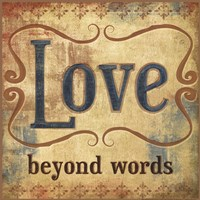Love Beyond Words Fine Art Print