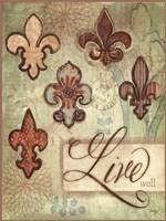 "Live by Mollie B. - 12"" x 16"""