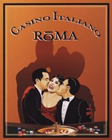 Casino Italiano Framed Print