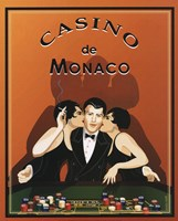 Casino de Monaco Fine Art Print