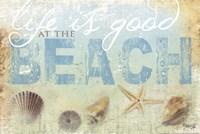 "Beach Life by Marla Rae - 18"" x 12"""