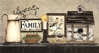 "Family by Linda Spivey - 30"" x 16"""