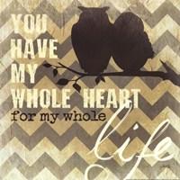 "Whole Heart by Marla Rae - 12"" x 12"""