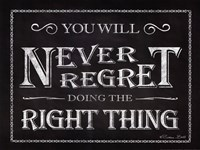 Never Regret Fine Art Print